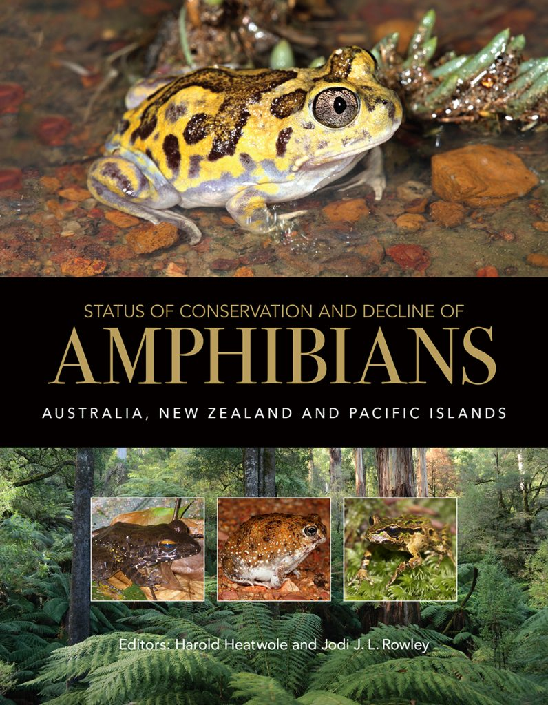 Status of Conservation and Decline of Amphibians:  Australia, New Zealand and Pacific Islands