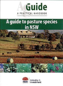 A Guide to Pasture Species in NSW